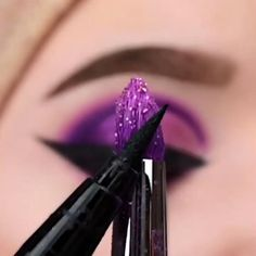 Smoke Eye Makeup, Purple Eye Makeup, Eye Makeup Steps, Colorful Eye Makeup, Eye Makeup Art, Smoky Eye Makeup Tutorial, Bridal Eye Makeup, Eye Makeup Designs, Makeup Makeover