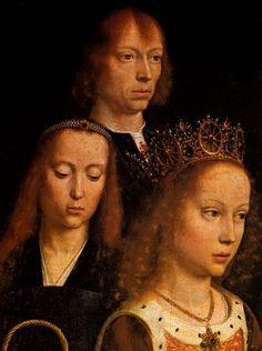GERARD DAVID / (1509) Self-portrait, detail from Virgo inter Virgines,