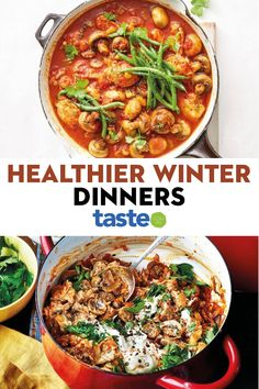 Healthy Weeknight Meals, Healthy Family Dinners, Healthy Lunches, Healthy Comfort Food, Healthy Food, Healthy Eating, Yummy Food, Healthy Winter Recipes, Winter Dinner Recipes