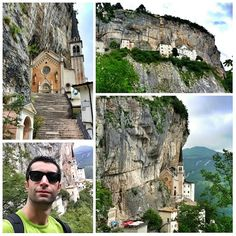 madonna della corona Picture Places, Seen, San Pellegrino, Visit Italy, Great Pictures, Verona, Italy Travel, Mount Rushmore, Beautiful Places