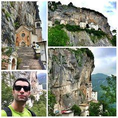 madonna della corona Picture Places, Seen, San Pellegrino, Visit Italy, Great Pictures, Verona, Italy Travel, Madonna, Mount Rushmore