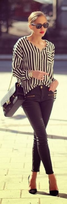 Striped Shirt | Spring Look.
