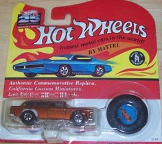 HOT WHEELS 25TH ANNIVERSARY COLLECTOR'S EDITION CLASSIC NOMAD by MATTEL. $3.07