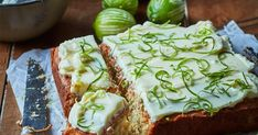 Feijoas pair so well with the coconut and lime in this easy cake, making a delightfully zingy and zesty treat.