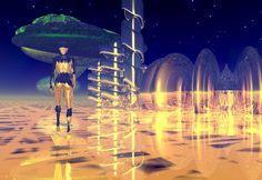 "Bryce, Series ""Otherworld"", 1999/2000 Digital Art, Fantasy, Concert, Imagination, Recital, Concerts, Fantasia"