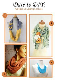 Dare to DIY: Spring Scarves | Gemvara Blog