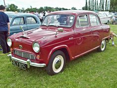 1955 Austin Cambridge A50 DeLuxe 1.5L 4-Cylinder OHV B-Series 50Bhp Engine (photo by R.Knight)