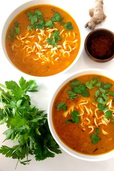 Kokosnuss-Chili-Suppe