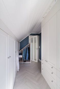 You searched for Soverom Loft Room, House By The Sea, House Ideas, Bedroom, Closet, Home Decor, Cloakroom Basin, Armoire, Decoration Home