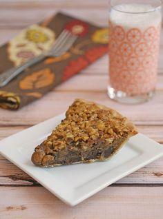 Bourbon & Chocolate Pecan Pie #glutenfree #gfcommunity