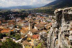 Castel di Sangro, a modern touristical town with an ancient charme