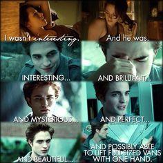 Twilight ~ Edward and Bella: