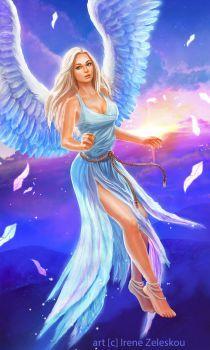 angel of light by ftourini