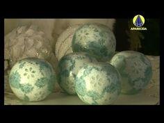 ▶ Tudo Artesanal   Esfera Floco de Neve por Peter Paiva - 08 de Novembro de 2013 - YouTube
