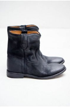 Black Crisi Boot by Isabel Marant