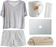 """""""sick day"""" by guaiva ❤ liked on Polyvore"""