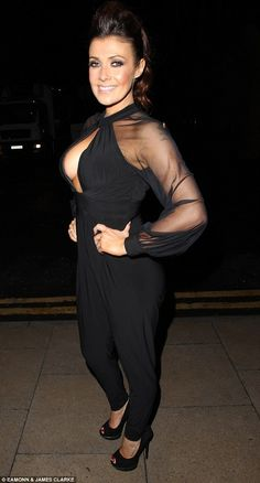 Kym Marsh wows in plunge fronted jumpsuit for date night British Actresses, Hot Actresses, Beautiful Actresses, Curvy Women Outfits, Sexy Outfits, Clothes For Women, Kym Marsh, Kardashian Style, Celebs