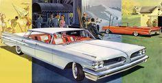1959 Pontiac Bonneville Vista and Catalina Convertible - 'Four Seasons': Art Fitzpatrick and Van Kaufman