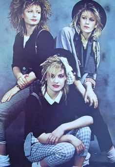 bananarama. I think I loved that everyone in this era dressed very japanese or like a slut. And I liked to do both