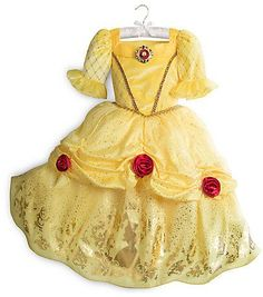 2020 Disney Belle Costume for Kids Yellow and more Disney Costumes for Girls, Girl's Halloween Costumes for