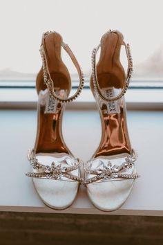 Modern Rooftop Wedding from Toronto, Ontario Chic Wedding, Wedding Shoes, Wedding Details, Wedding Dress Trends, Wedding Attire, Groom Shoes, Rooftop Wedding, Bridal Heels, Bridal Cape