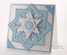 JustRite Square Snowflakes » Chit Chat » JustRite Stampers » Spellbinders » Amazing Paper Grace