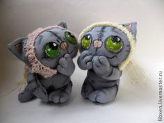 Игрушки животные, ручной работы. Ярмарка Мастеров - ручная работа Котуны - хохотуны (коты). Handmade.
