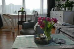nowy biały simply, my lifestyle tulipany white home interior design