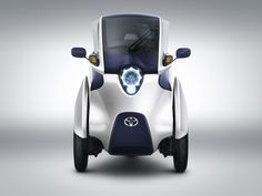 i-Road- Electric Personal Mobility Vehicle by Toyota