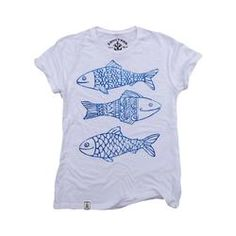 Happy Fish: Organic Fine Jersey Short Sleeve T-Shirt