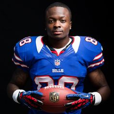 Bills wide receiver Marquise Goodwin's inspiration is his sister Deja. Click on number 88 to read why.