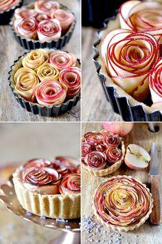 La tarte aux fleurs de pomme - B comme Bon