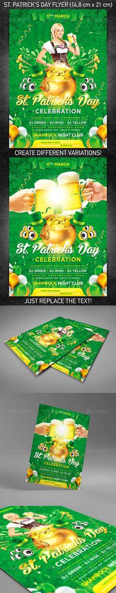 Presentation Flyer Random Event Materials Pinterest