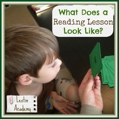 Lextin Academy of Classical Education: What Does a Reading Lesson Look Like?