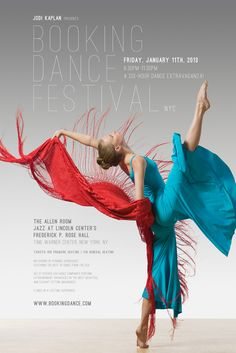 Booking Dance Festival poster