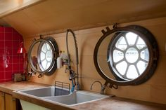 Beautiful galley portals