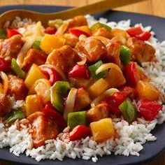 Slow-Cooker Sweet and Sour Chicken recipe from Betty Crocker