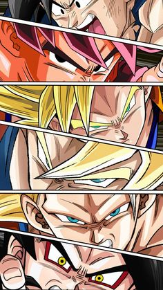 Goku forms by NabilJabour.deviantart.com on @DeviantArt - Visit now for 3D Dragon Ball Z compression shirts now on sale! #dragonball #dbz #dragonballsuper
