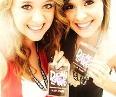 Megan and Liz :) Plus Demi Lovato. That would be great!