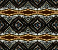 NIGHT LIGHTS PRECIOUS EYE ETHNIC PATTERN DIAMOND fabric by paysmage on Spoonflower - custom fabric