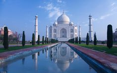 Taj Mahal. Taj Mahal is the icon of India and the epitome of love around the world. This magnificent monument was built by Shah Jahan in the loving memory of his wife Mumtaz Mahal.