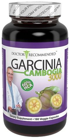 Garcinia Cambogia Extract 3000 Premium - 180 count - #1 Doctor Recommended Pure Formula - Maximum Dosage Per Dr Oz TV Show - 3000mg daily (180 capsules-750mg veggie diet pills) 100% Natural Weight Loss Supplement - With Potassium & Calcium - 60% HCA - CREATED AND FORMULATED BY REAL DOCTORS ♥:Amazon:Health & Personal Care