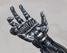 Jim Martin Concept Art: Mechanical Hand