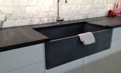 Black Soapstone Kitchen Countertop | Remodelista| Soapstone Is Soft And  Shows Scratches, But Surface