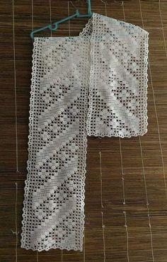 Filet Crochet, Crochet Stitches, Crochet Baby, Knit Crochet, Christmas Crochet Patterns, Beading Tutorials, Handicraft, Free Pattern, Embroidery