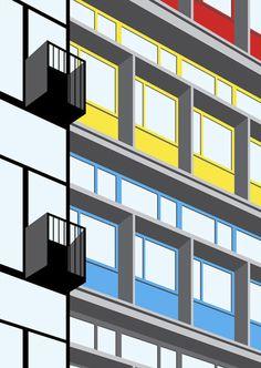 Architizer Blog » Le Corbusier Masterworks Get Graphic