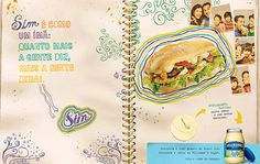Campaign developed by Ogilvy advertising agency for Unilever client, announcing the product mayonnaise Hellmann's in the light version. Photography based in Scrapbook with good moments related to the product! Photography by Marcelo Ribeiro. #MRibeiroPhoto #Pornfood #Light #Food #Mayonnaise #Hellmann's