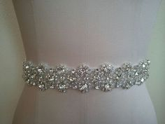 Wedding Belt, Bridal Belt, Sash Belt, Crystal Rhinestone - Style B50011 on Etsy, $64.31 AUD