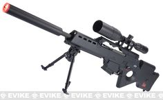 H&K Full Size SL9 Airsoft AEG Sniper Rifle by Umarex, Airsoft Guns, Airsoft Electric Rifles, ARES / S&T - Evike.com Airsoft Superstore