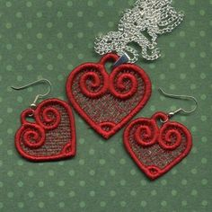 FSLNecklace Machine Embroidery designs from A Design By Lyn